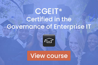 CGEIT Prep Course (4 days)